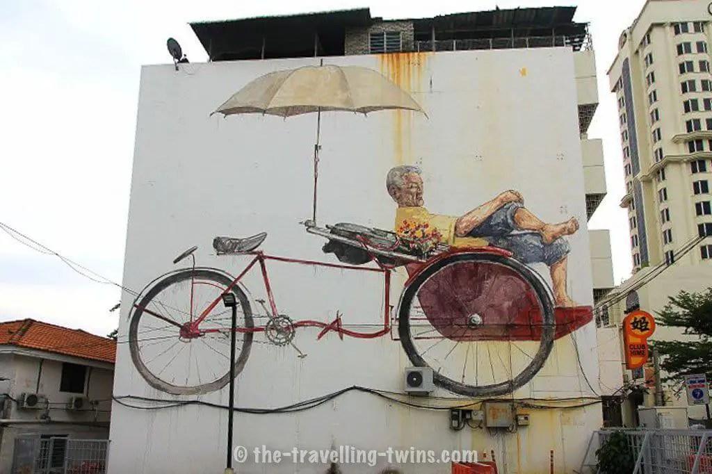 penang mural,  maritime suite penang,  armenian penang,