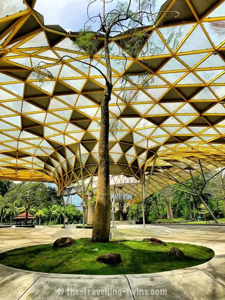 visit Perdana Botanical Gardens in Kuala Lumpur with kids