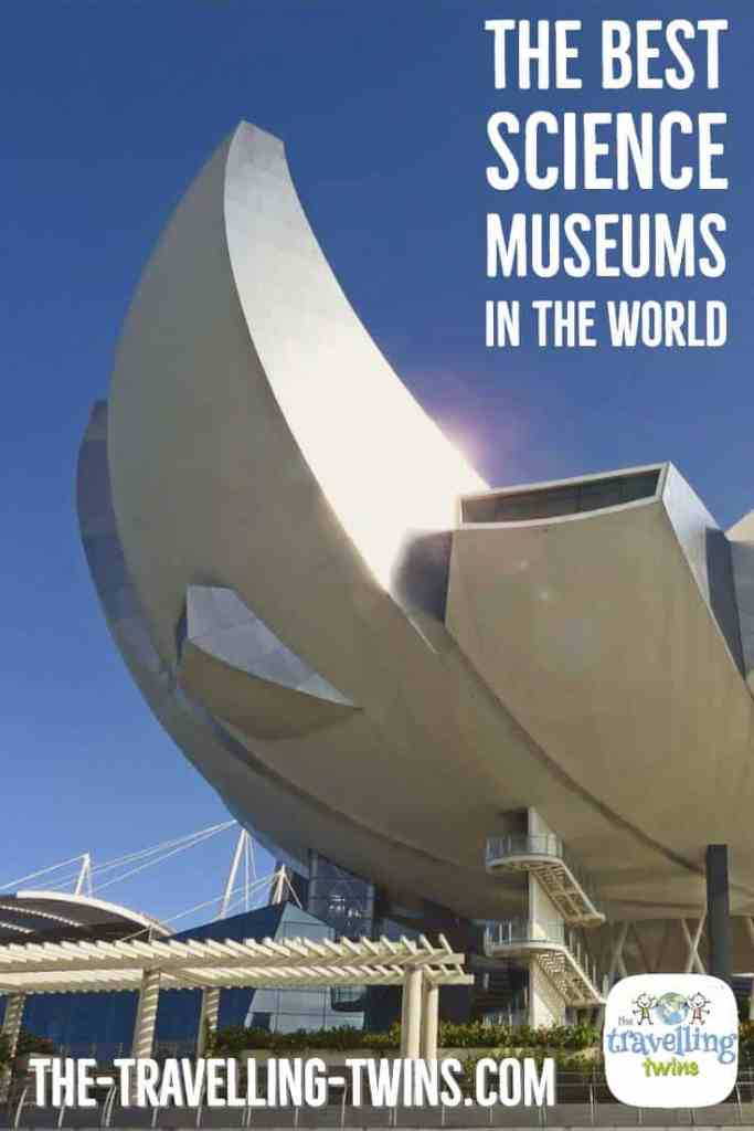 Best Science Museums around the world, learn in which museum kids have the biggest fun.
