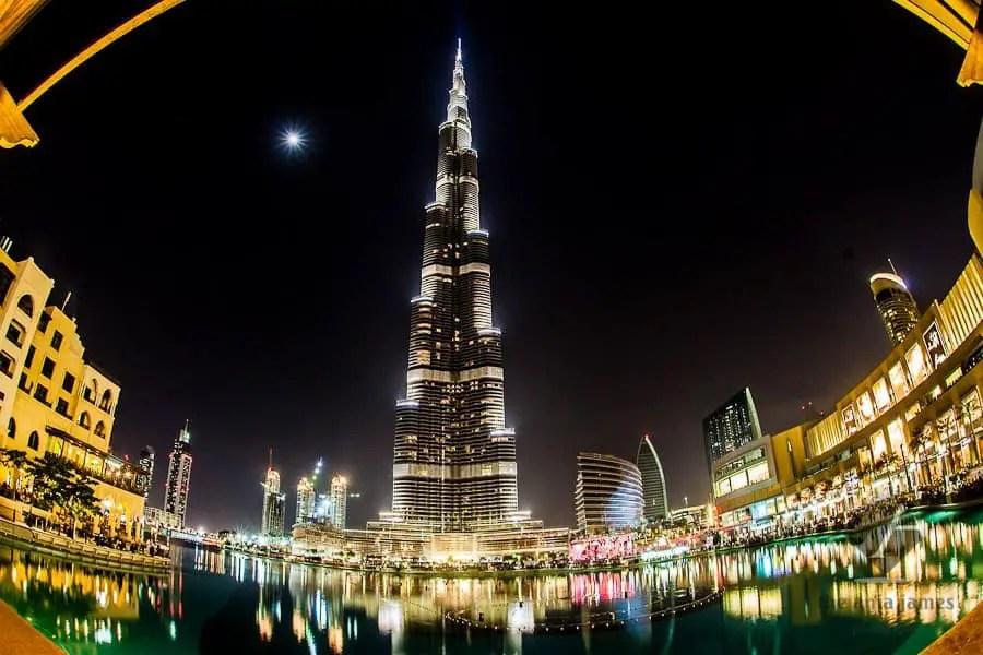 Dubai with kids - burj khalifa