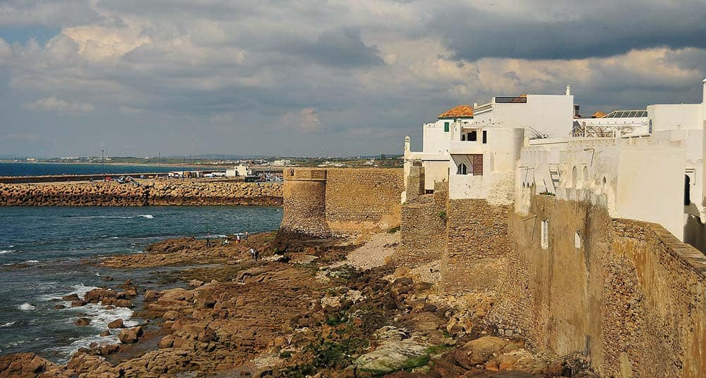 Asilah coastal city in morocco
