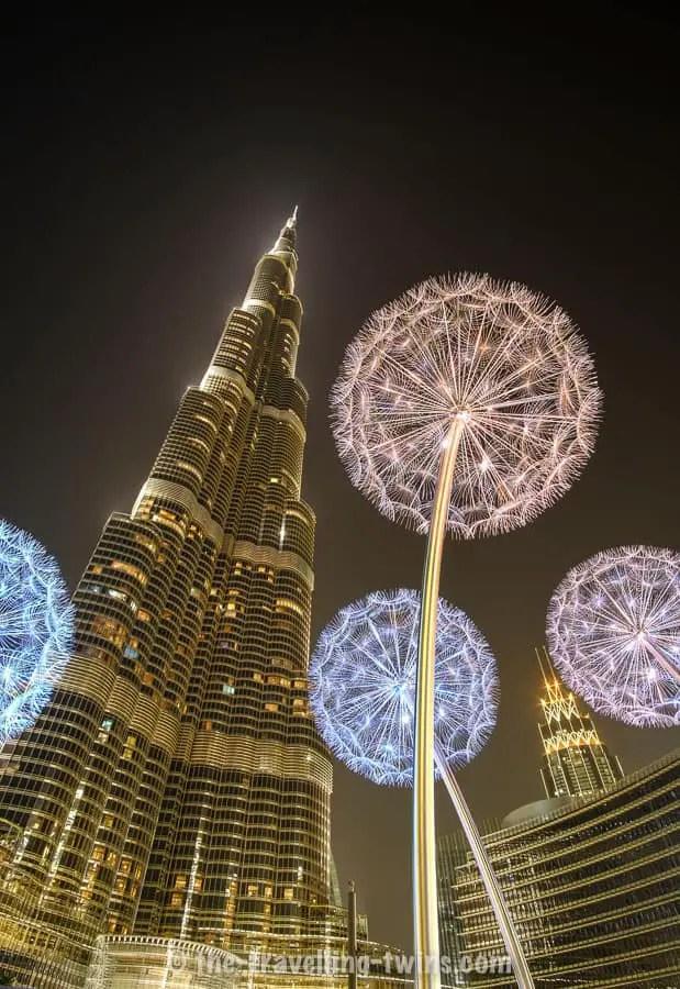 Burj Khalifa - the most famous landmark in Dubai