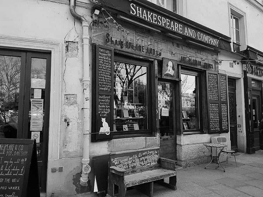 Paris best independent bookstore  Shakespeare company best bookstore in the world  Ernest Hemingway and Gertrude Stein.