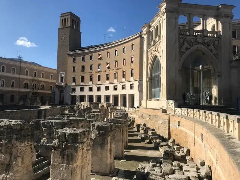 Lecce, Puglia - Roman Amphitheater in Lecce