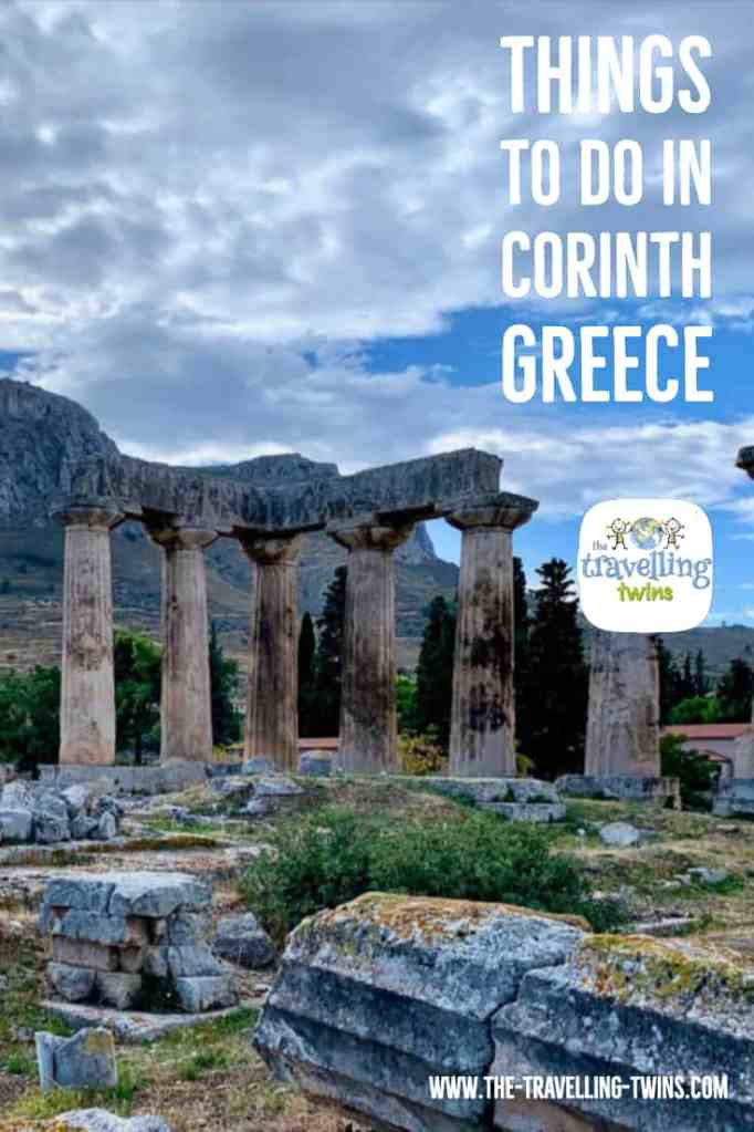 what to do in Corinth Greece - pin