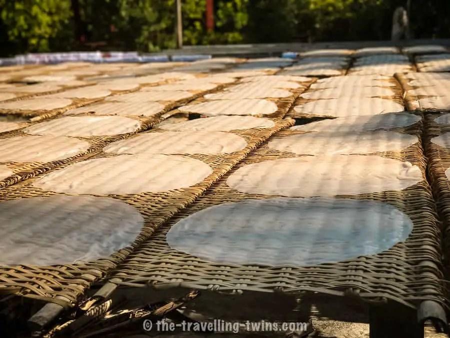 Mekong Delta, vietnam rice paper -