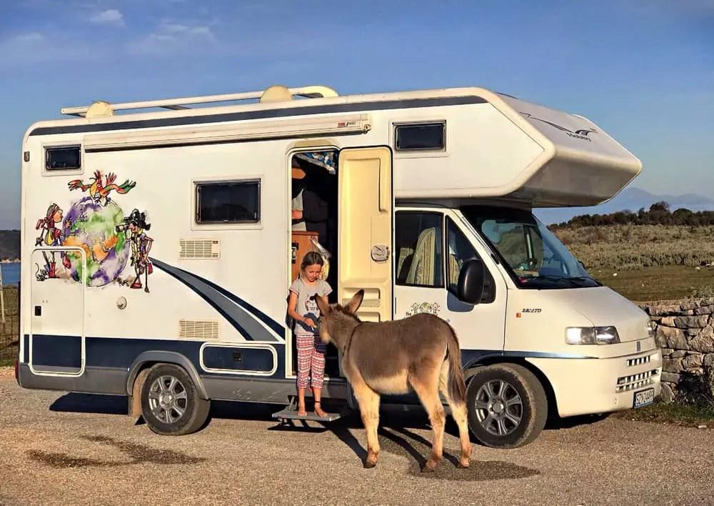 wild camping near Ksamil