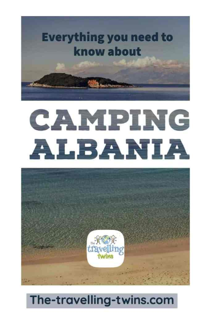 campsites in albania - pin it