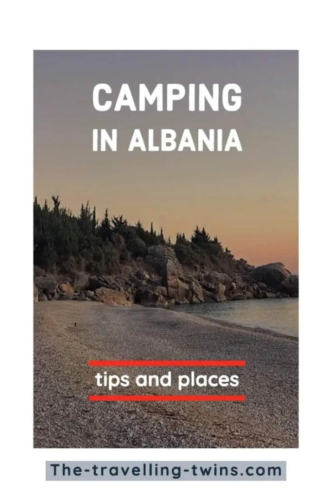 camping albania