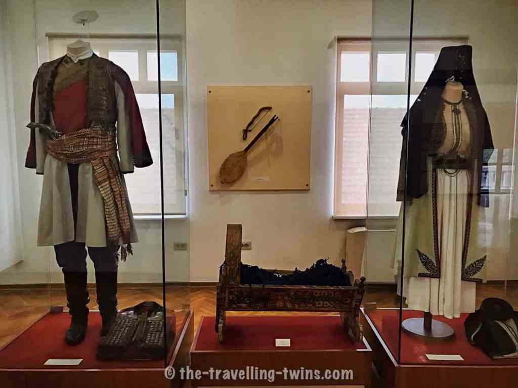 One of the Podgorica Museums - historical outfit