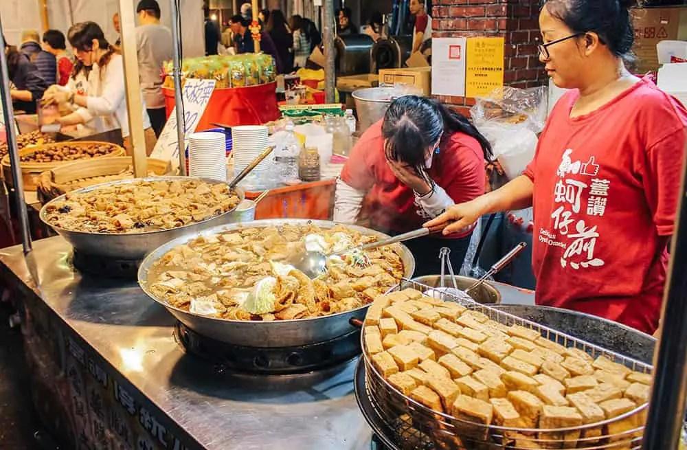 weirdest foods in Taiwan - stinky tofu