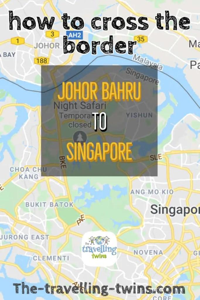 Johor Bahru to Singapore how to cross the border