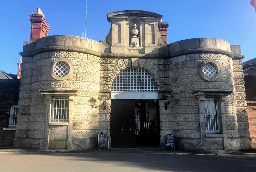 Shrewsbury best things to do, visit Dana Prison = Shrewsbury Prison  things shropshire activities shrewsbury