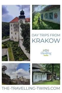 Day trips from Kraków - PIN it Wieliczka Salt Mine day trips, day tours out of Krakow, Day trips to Auschwitz Birkenau