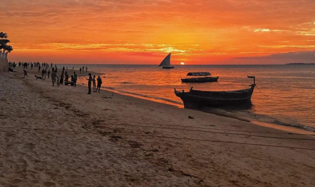 Zanzibar island - sunset, Zanzibar Tanzania