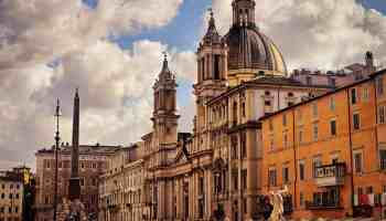 piazza navona - rome with kids