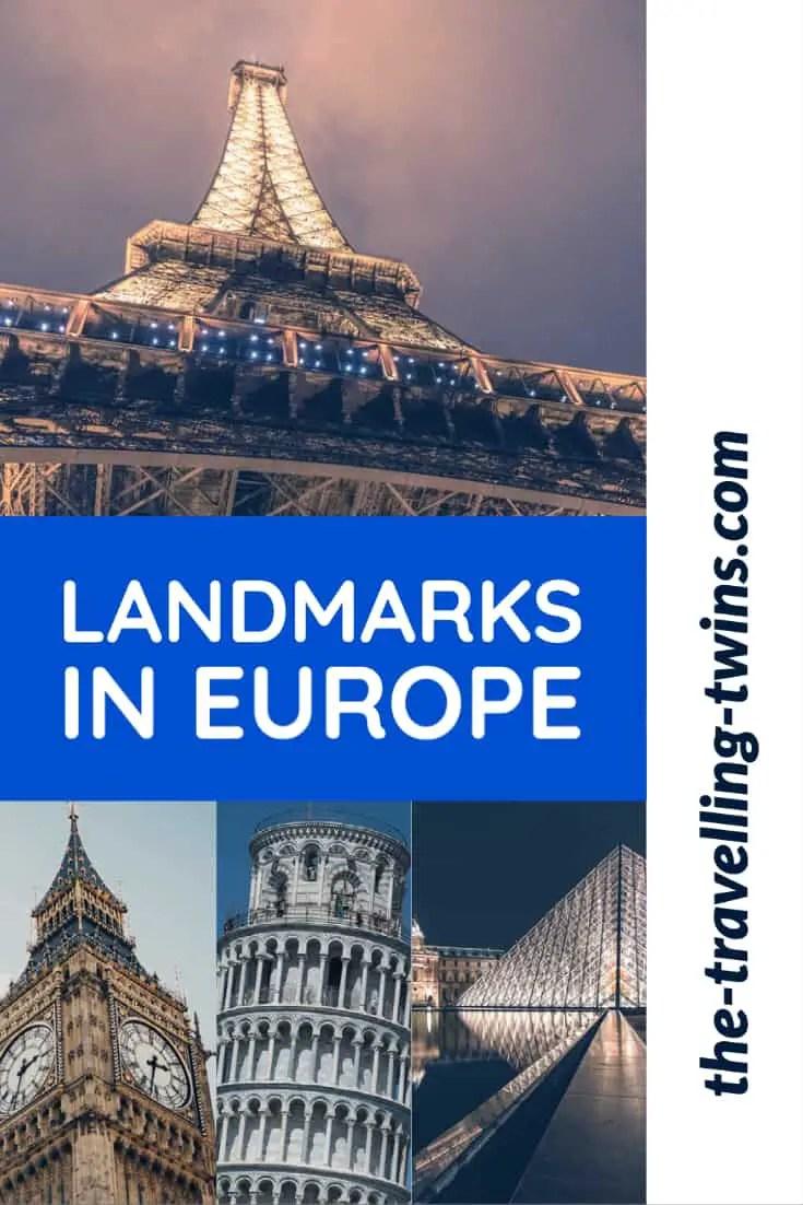 Most famous landmarks in Europe you should visit at least once · 1. Eiffel tower, Paris – France · 2. La Sagrada Familia, Barcelona – Spain ·