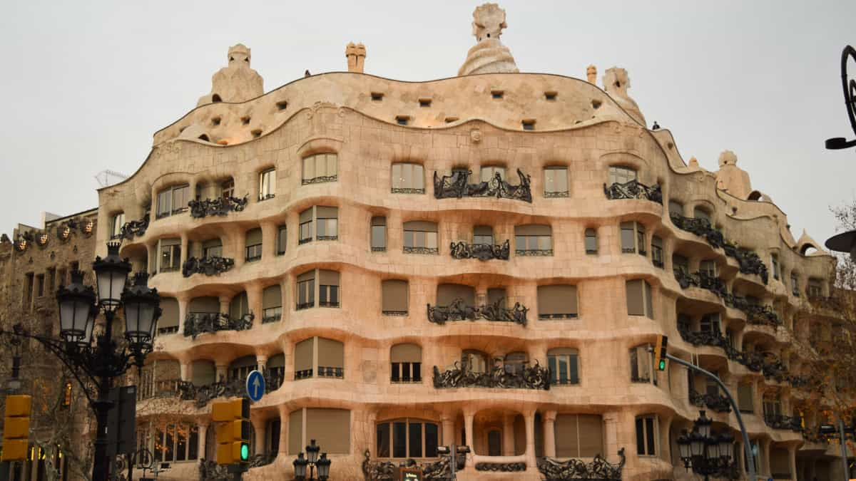 casa mila barcelona spain