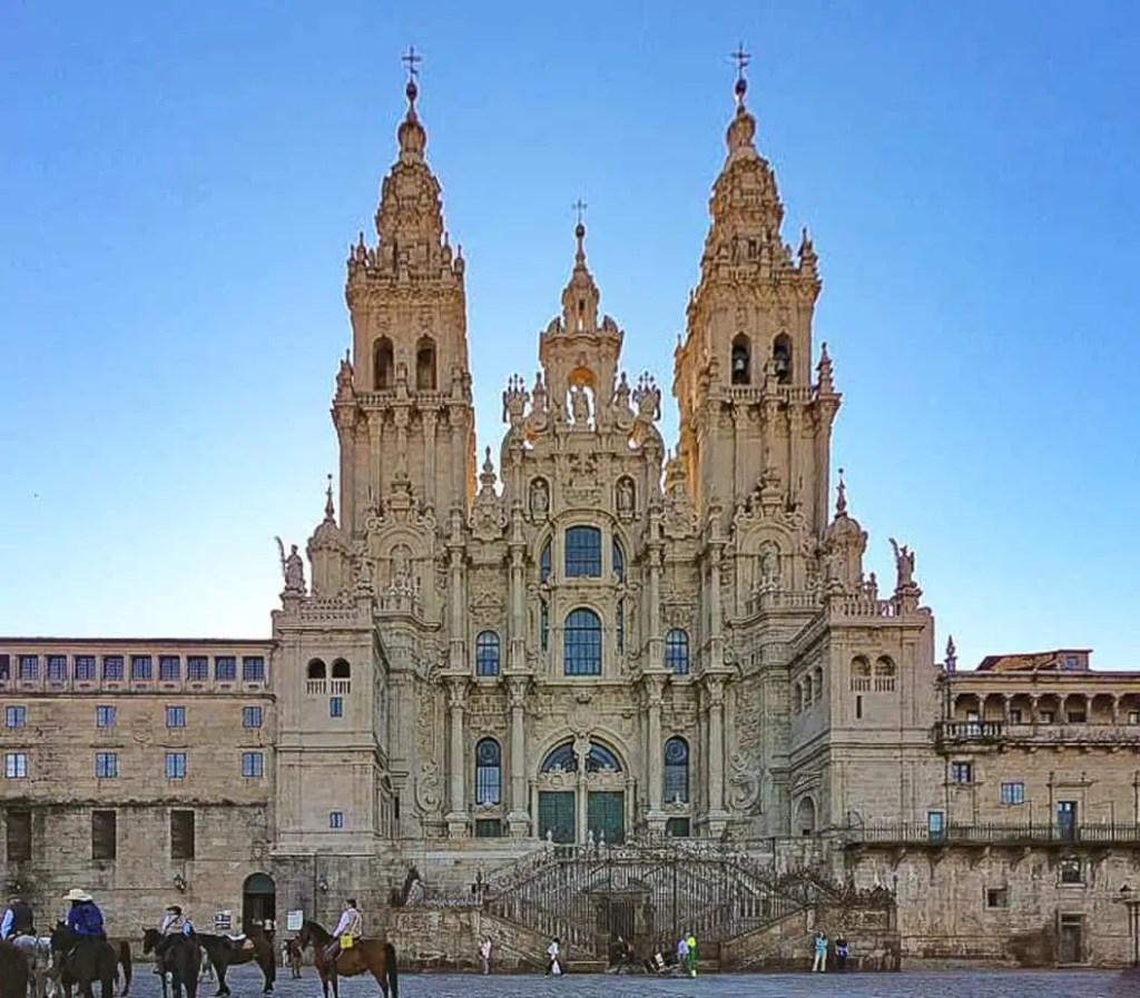 Spanish Landmarks historic sites santiago de compostela santiago de compostela