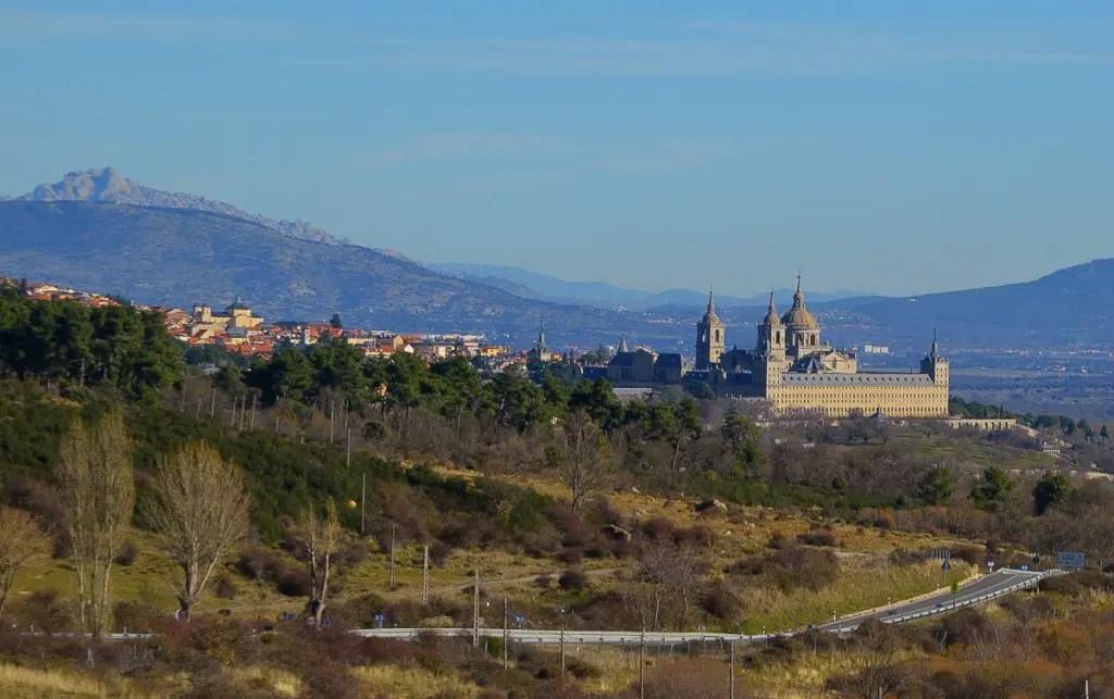 Spain Landmark - Royal Residence near madrid