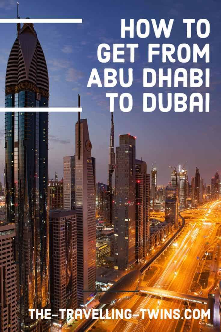 dubai and abu dhabi