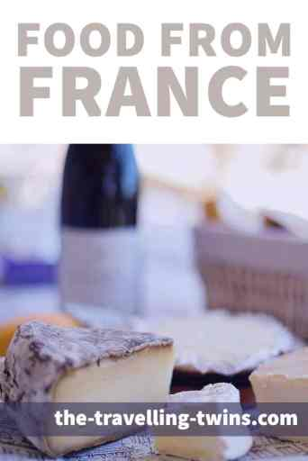 Food from France