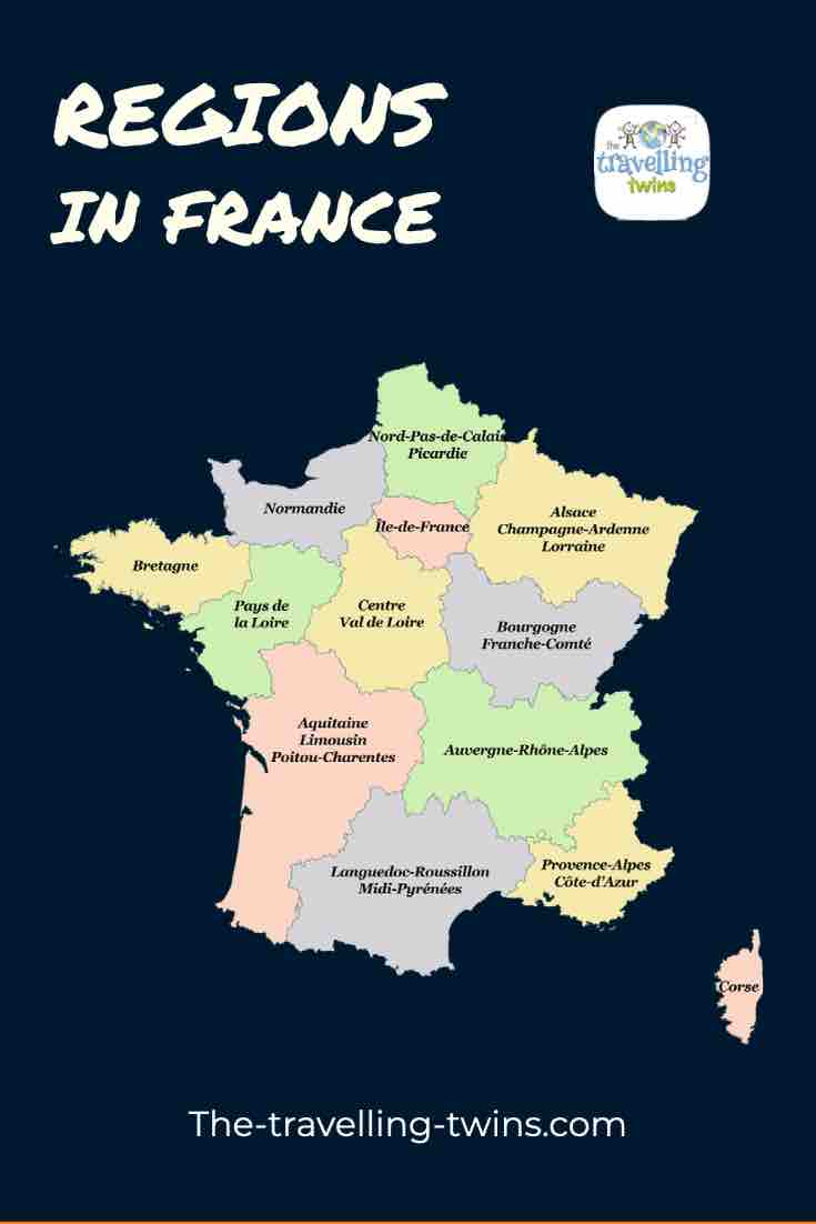 Departments in France