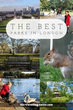 best parks in London london's parks