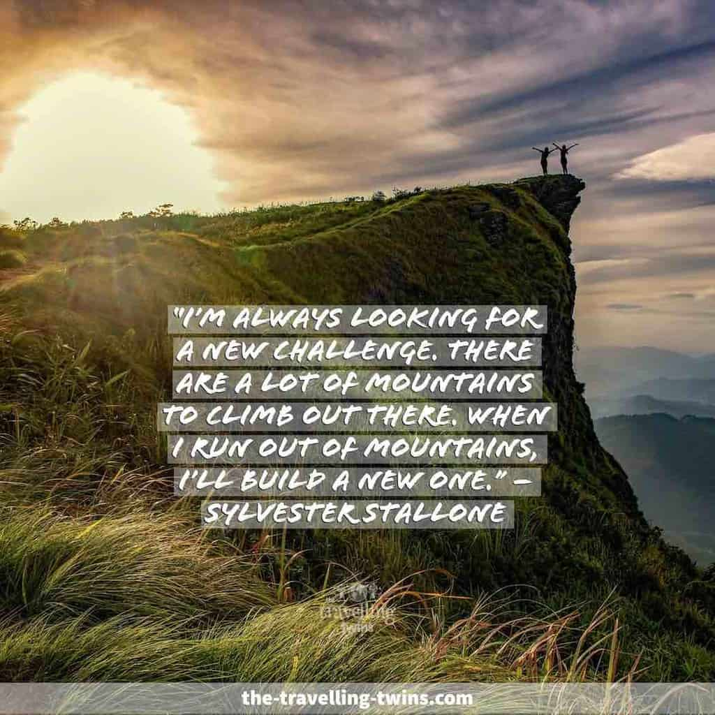 mountain quotes for instagram