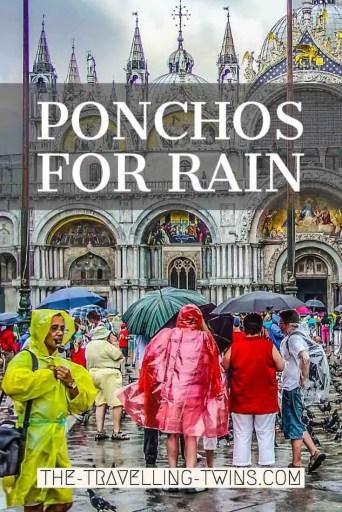 ponchos for rain