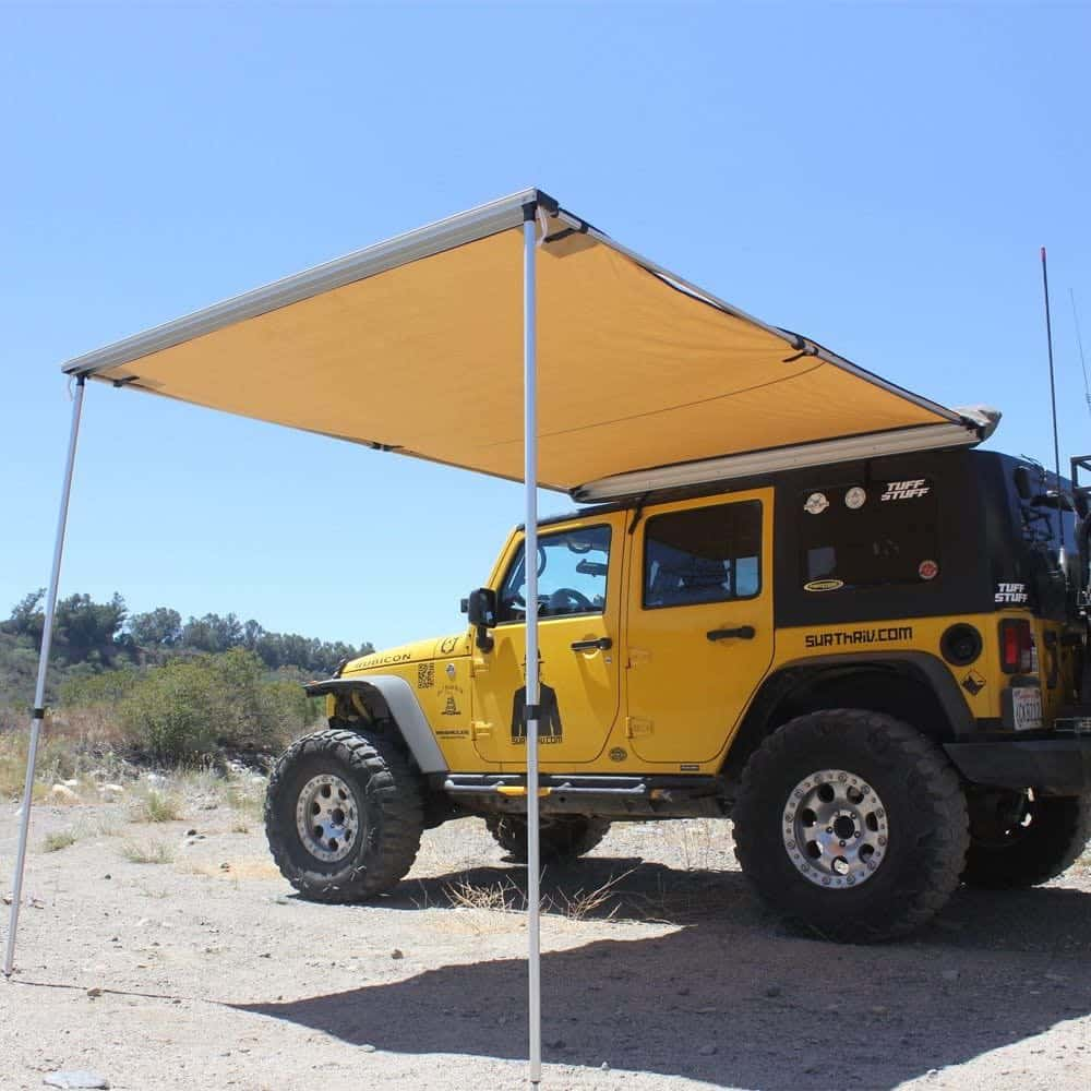 Tuff Stuff Rooftop awnings for campers