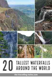 tallest waterfalls in the world, world's highest waterfalls