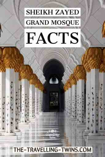 Sheikh Zayed Grand Mosque Facts