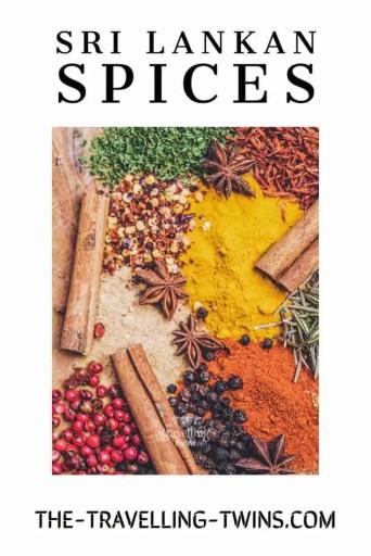 sri Lankan cuisine, sri lankan spice