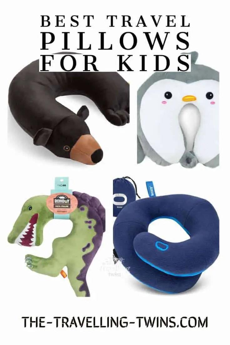 best kids travel pillow