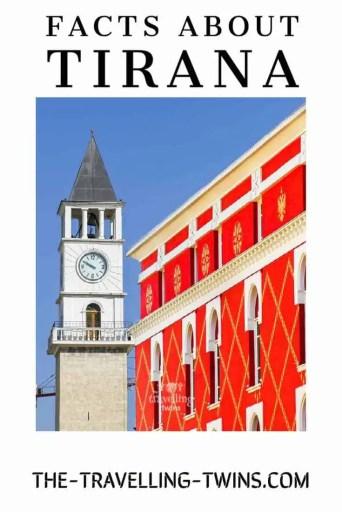 facts about Tirana, Albania