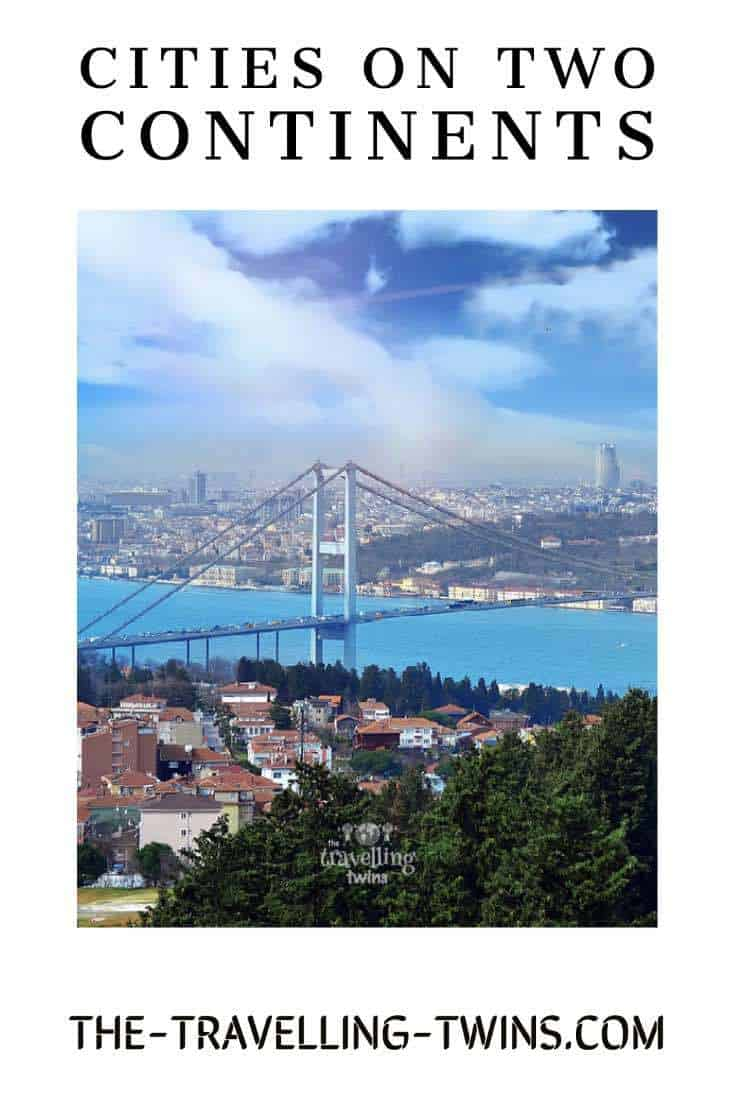 Istanbul city on two continents