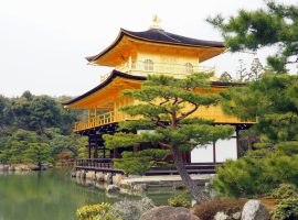 Japan-Kyoto-Goldener-Tempel