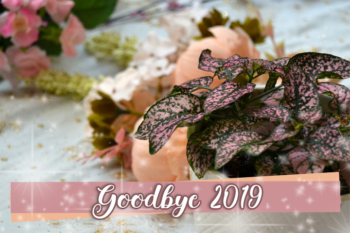 Header image for some flowers saying Goodbye 2019