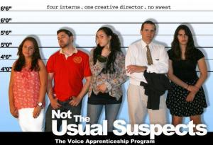 The Voice Not the Usual Suspects
