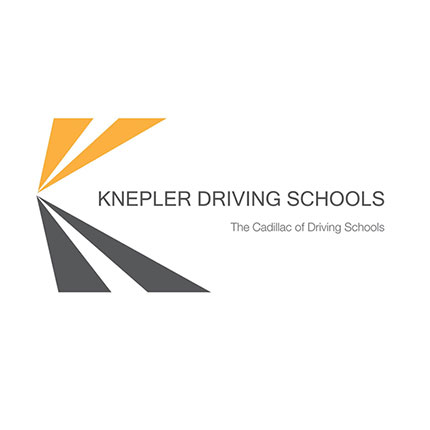 Knepler Driving Schools logo by The Voice