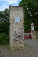 "<h5>Thanks Karsten Ratzke</h5><p>Alsfeld, Volkmarstraße 6, Berliner Mauer by Karsten Ratzke - Own work. Licensed under <a title=""CC0"" via href=""https://commons.wikimedia.org/wiki/File:Alsfeld,_Volkmarstra%C3%9Fe_6,_Berliner_Mauer.JPG"" target=""_blank"">Wikimedia Commons</a></p>"