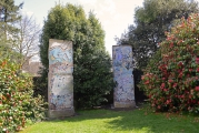 "<h5>Thanks Lismore Castle Arts</h5><p>Two sections of the Berlin Wall installed in Lismore Castle Gardens in March 2015. © <a href=""http://www.lismorecastlearts.ie"" target=""_blank"">Lismore Castle Arts</a></p>"