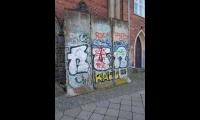 <h5>Rudolfstraße</h5><p>Rudolfstr. 14 <strong>KulturRaum Zwingli-Kirche</strong> © Andrew und Liane (via The Wall Net)<br>Datum der Aufnahme: 2018                                                                                                      </p>