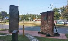 Berliner Mauer in Danzig, Polen