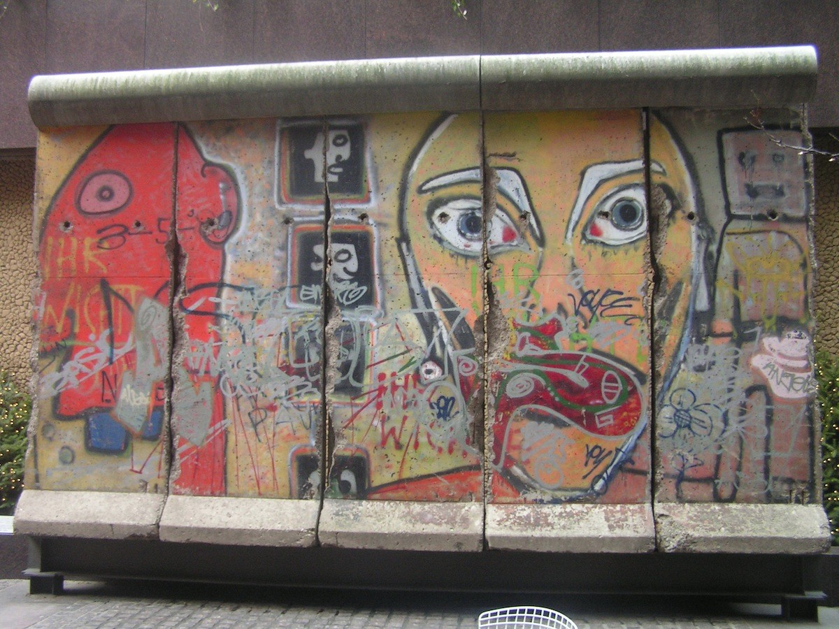The Berlin Wall in New York City, NY