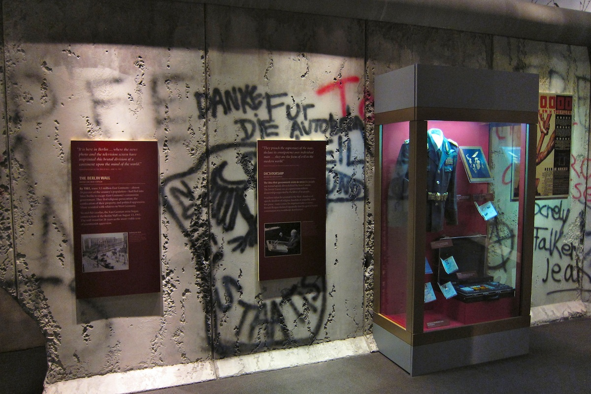Berlin Wall Simi Valley Ronald Reagan Presidential Library and Museum