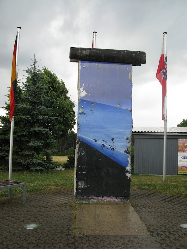 Berliner Mauer in Point Alpha