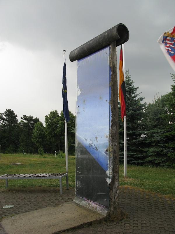 Berliner Mauer in Point Alpha