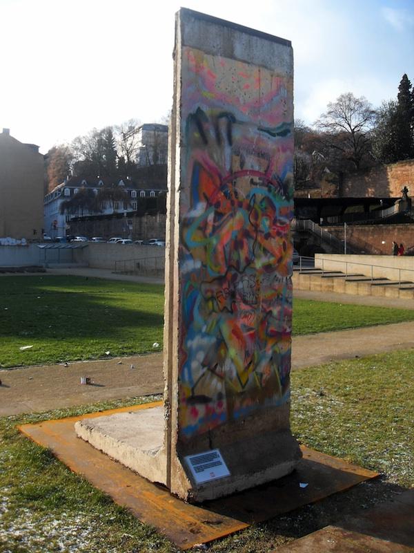 Berliner Mauer in Saarbrücken